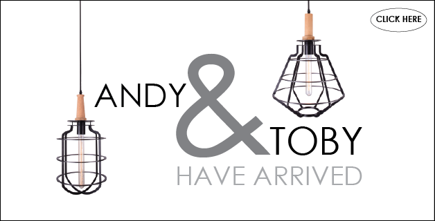 Andy & Toby Cage Pendant Lights