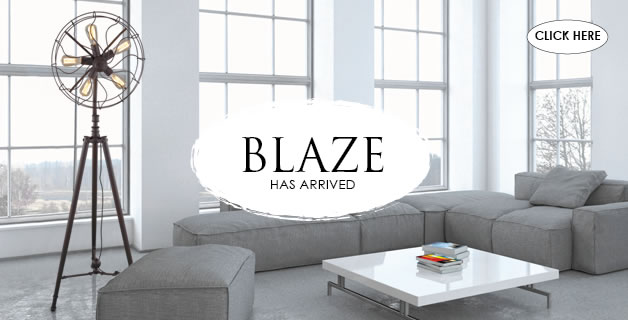 Blaze Floor Lamp - Rustic Has Arrived
