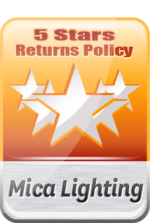 MICA Lighting 7Days Returns Policy