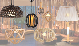 Timber & Wooden Lamps