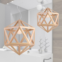 Ceiling Lighting - Timber, Wooden & Bamboo