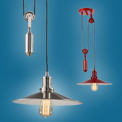 Rise & Fall Pendant Lights