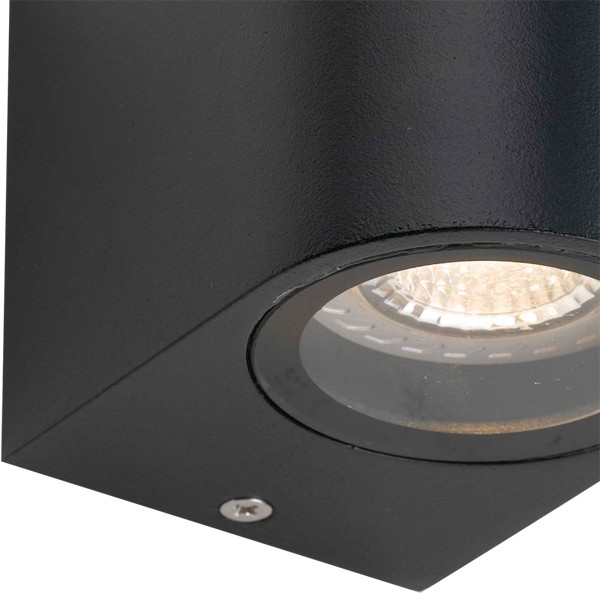 Eos Outdoor Wall Lamps Black Exterior Lighting Melbourne