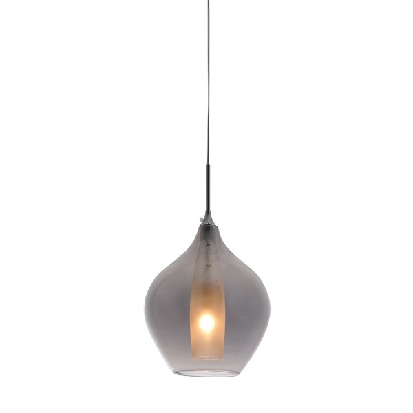 Glass Modern Smoke Pendant Lighting Harper