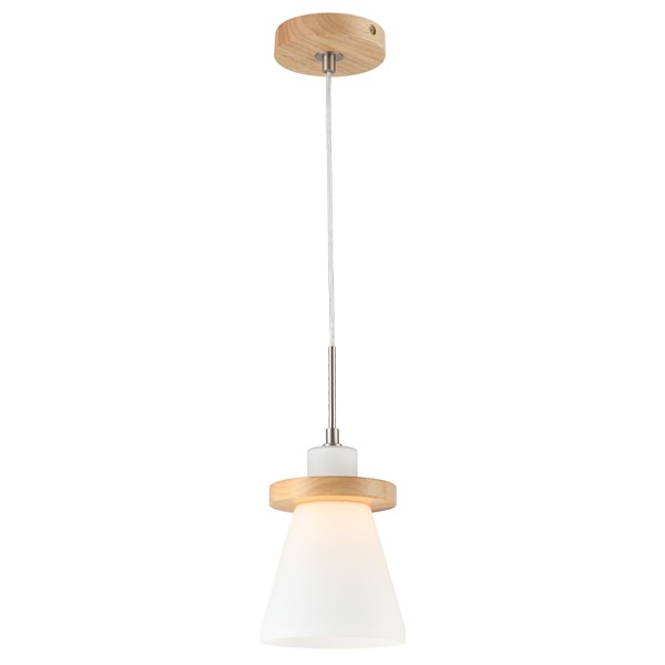 Modern Lighting Kikki Timber Pendant Light