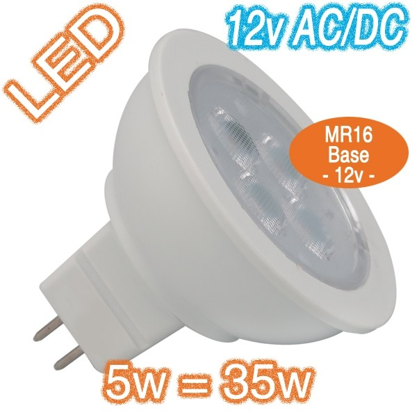 Led 5w 12v Ac Dc Mr16 Bulbs Lighting Retro Fit Lamps Globes