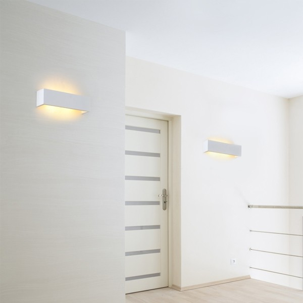 Linear Lighting Plaster Wall Sconce Lights Marden Design