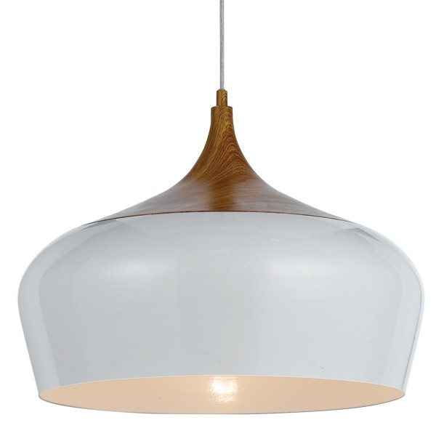 Polk 46cm Timber Metal Pendant Lights Telbix Lighting Ceiling