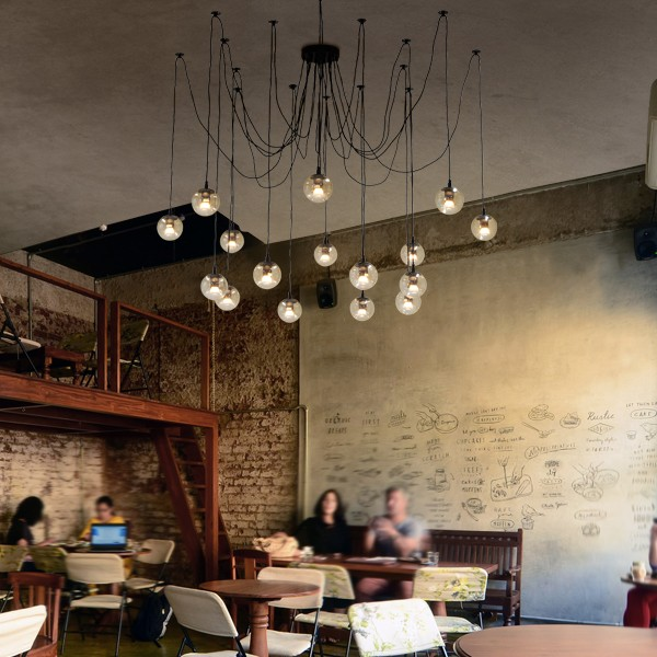 Spider Pendants Lights Modo Jason Miller Looping Ceiling