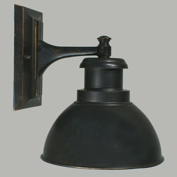 Lode Terminal Outdoor Wall Light Bronze Antique