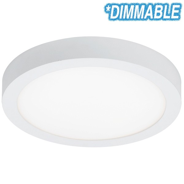 Unos 24w Led Oyster Lights Dimmable Round Ceiling Lighting