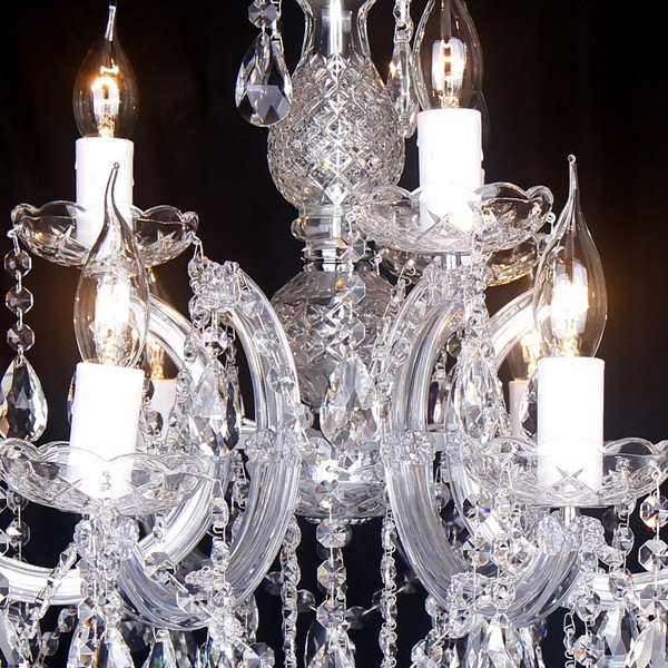 Chandelier Lighting Zurich Crystal 9 Lights Classical