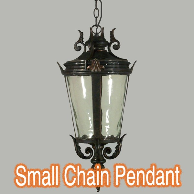 Albany Small Pendant Lighting Chain Traditional Light Bronze