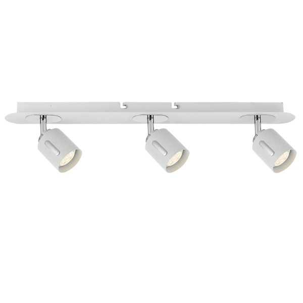 LED Spotlights Burton 3 Lights Indoor Lighting Pivot Telbix