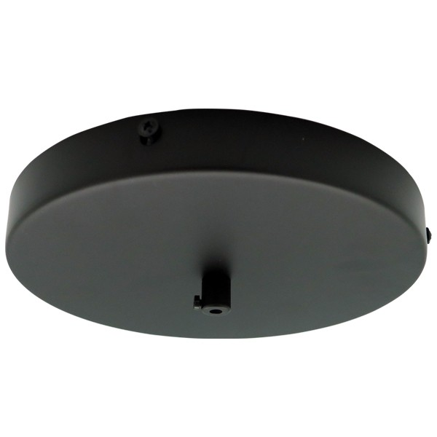 200mm Large Black Canopy Pendants Lights Ceiling Plates