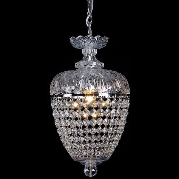 Chopin Lighting Crystal Basket Ceiling Lights Pendants Hanging