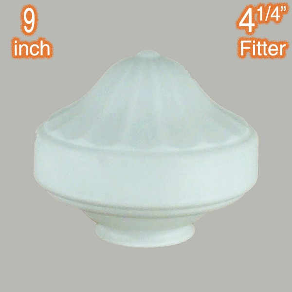 Derby 9 inch Glass Shade Opal Matt