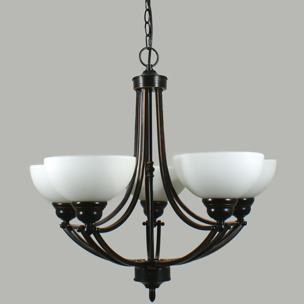 Getting To Grips With Ceiling Lighting: Houston Bronze 5 Lights Ceiling Traditional Lighting Lode International