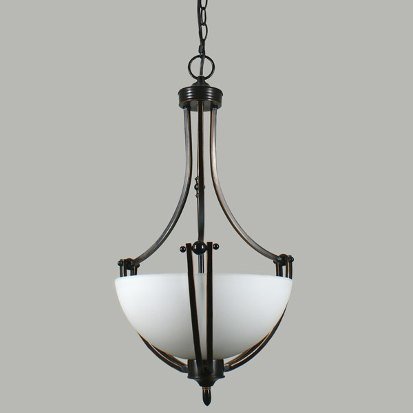 Houston Bronze Hanging Lighting Single Suspension Ceiling Lights