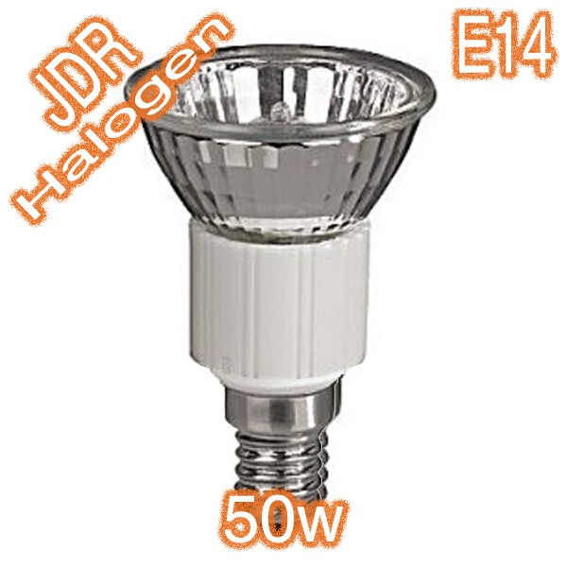 50w E14 JDR Halogen Lamp 240v Globe