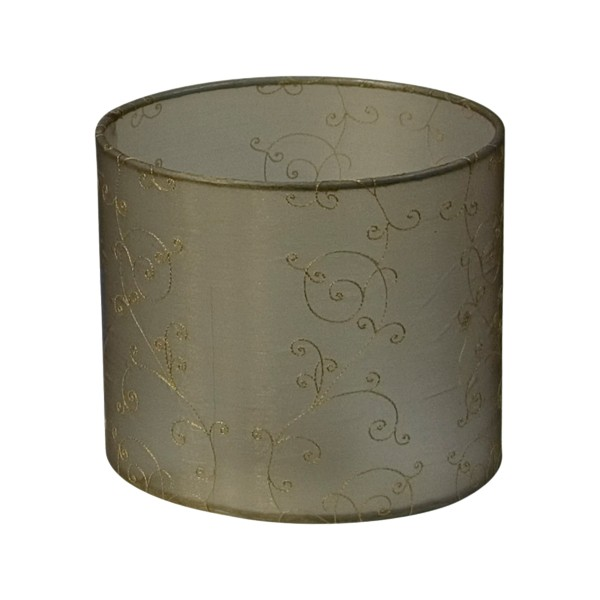 Lacey 20 Small Fabric Shade Gold