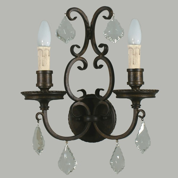 Louis 15th 2 Lights Sconce Interior Wall Lighting