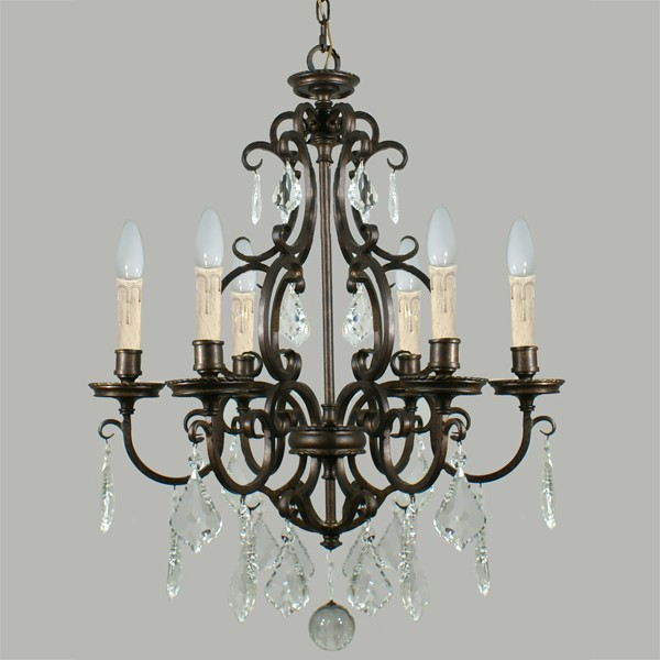 Louis 15th 6 Lighting Pendant French Classical Lights