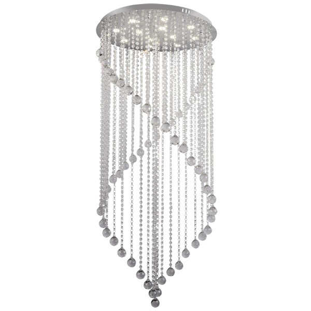 Majesty crystal chandelier led light mozeypictures Gallery