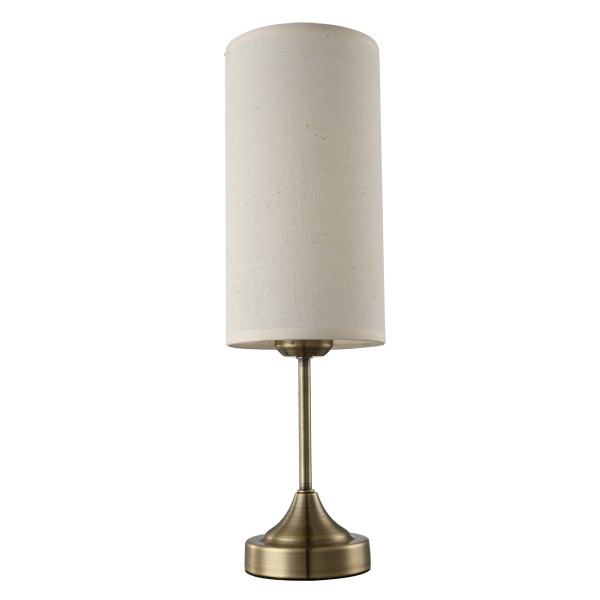 Touch Table Lamps Lights Beige Antique Brass Lighting Cheap