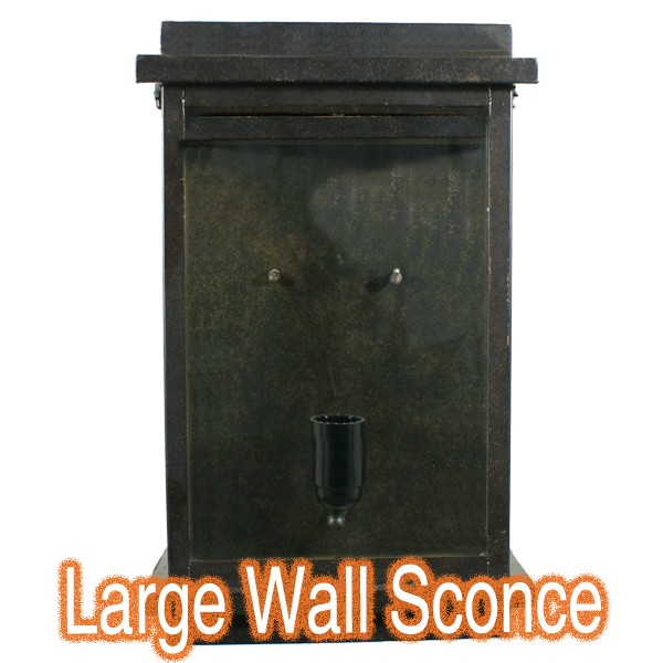 Montrose Large Outdoor Wall Sconce Lode Lighting Antique Bronze