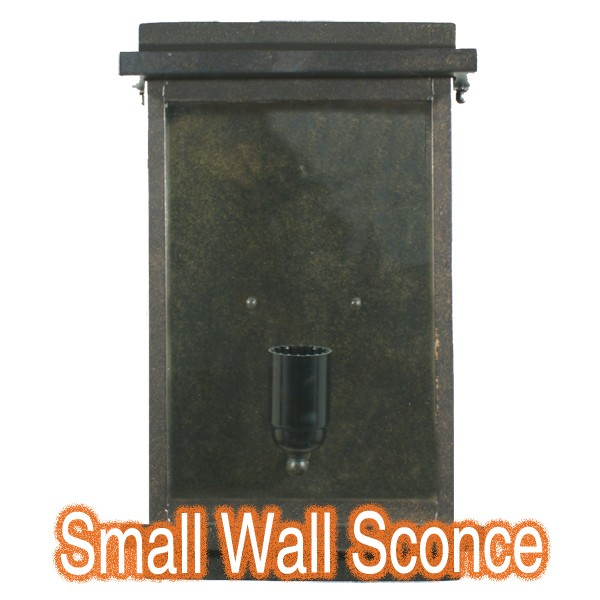 Montrose Small Lighting Outdoor Wall Sconce Period Light
