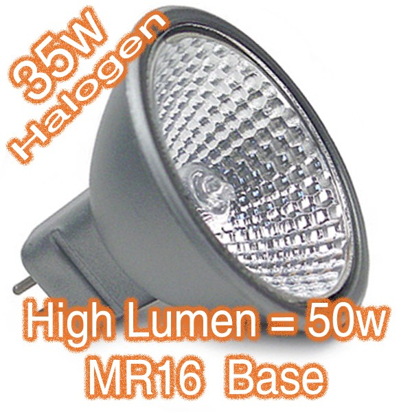 MR16 35w 50w High Lumen Halogen Lamp 12v Globe