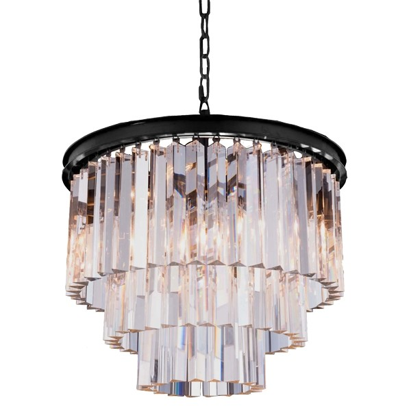Crystal Chandelier Odeon Lights Cage Classical Lighting