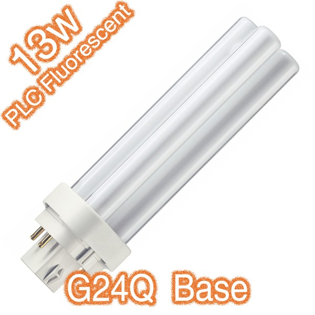 PLC 4Pin G24Q 13w Compact Fluorescent Tube 240v Globe