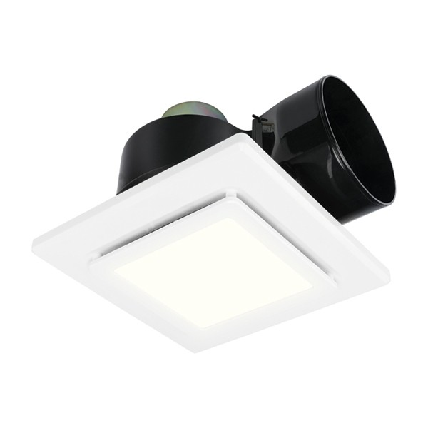Brilliant 20398 Sarico Led Bathroom Fans Exhaust Lights Combo