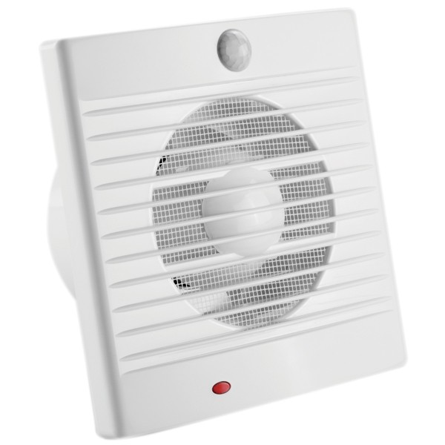 PIR Sensor Wall Mounted Fans Bathroom Exhaust Window Laundry 150mm Sensa-Flow