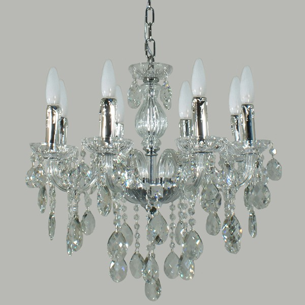venice lighting lode international 8 lights crystal chandelier