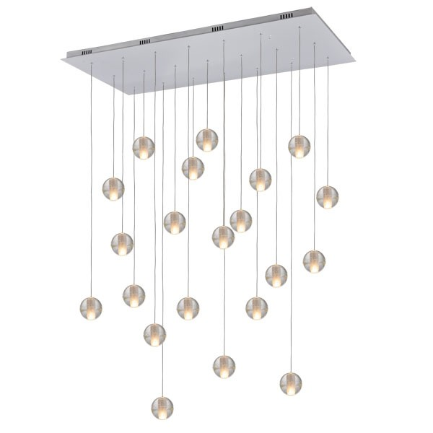 Modern bocci ball lights glass pendants lighting replica omer arbel aloadofball Image collections