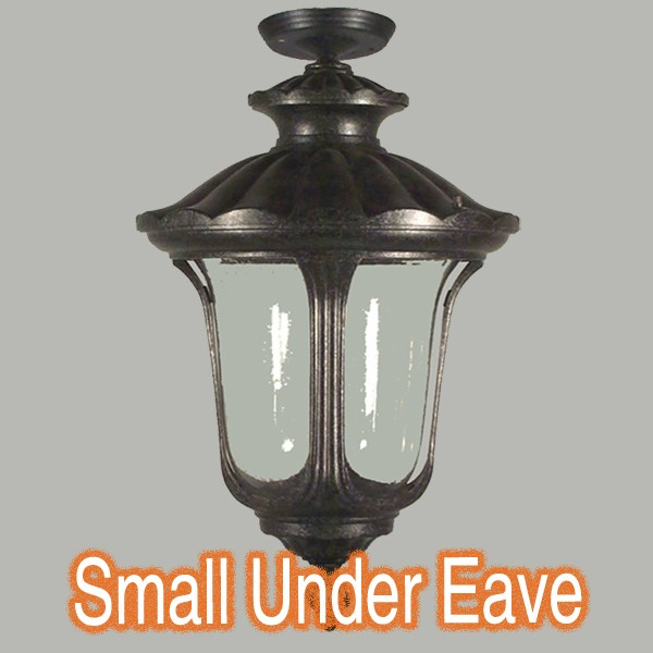 Waterford Small Outdoor Under Eave Lighting Lights