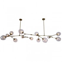 Bubbles Replica Lindsey Adelman Dining Room Table Pendants Lights Lighting Chandelier Branching