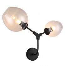 Replica Lindsey Adelman Designer Branching Bubbles Wall Sconce Lights Black Lighting