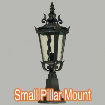 Brick Pillar Mounted Lights Albany Exterior Outdoor Lighting Lode International