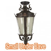 Outdoor Under Eave Lighting Traditional Albany Exterior Light