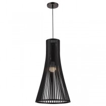 Coastal Black Pendants Lights Replica Seppo Koho Secto Lighting
