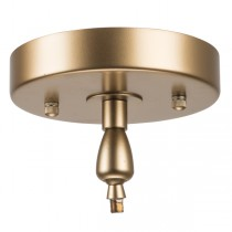 Modo Angled Canopy Raked Ceiling Chandelier Lighting Ceiling Plate
