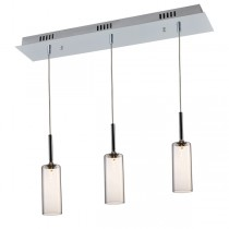 Annie 3 Light Pendant - Clear