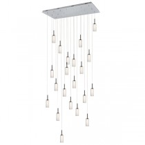 Annie 21 Light Pendant - Clear