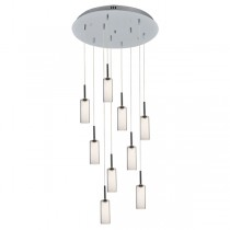 Annie 9 Light Pendant - Clear