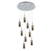 Melbourne Lighting Modern Glass Pendants Lights Staircase Void Cluster