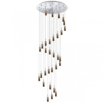 Annie 31 Light Pendant - Smoke